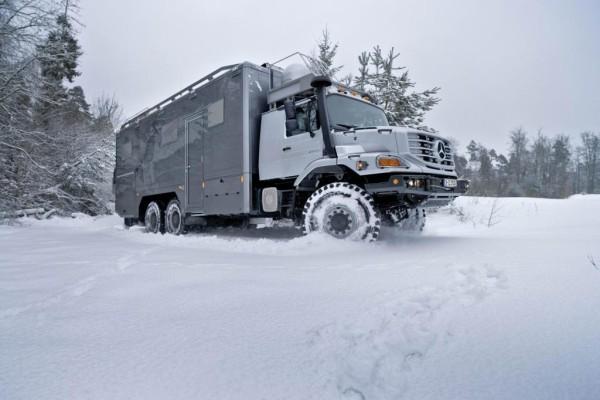 Mercedes Zetros - Wohnmobil extrem