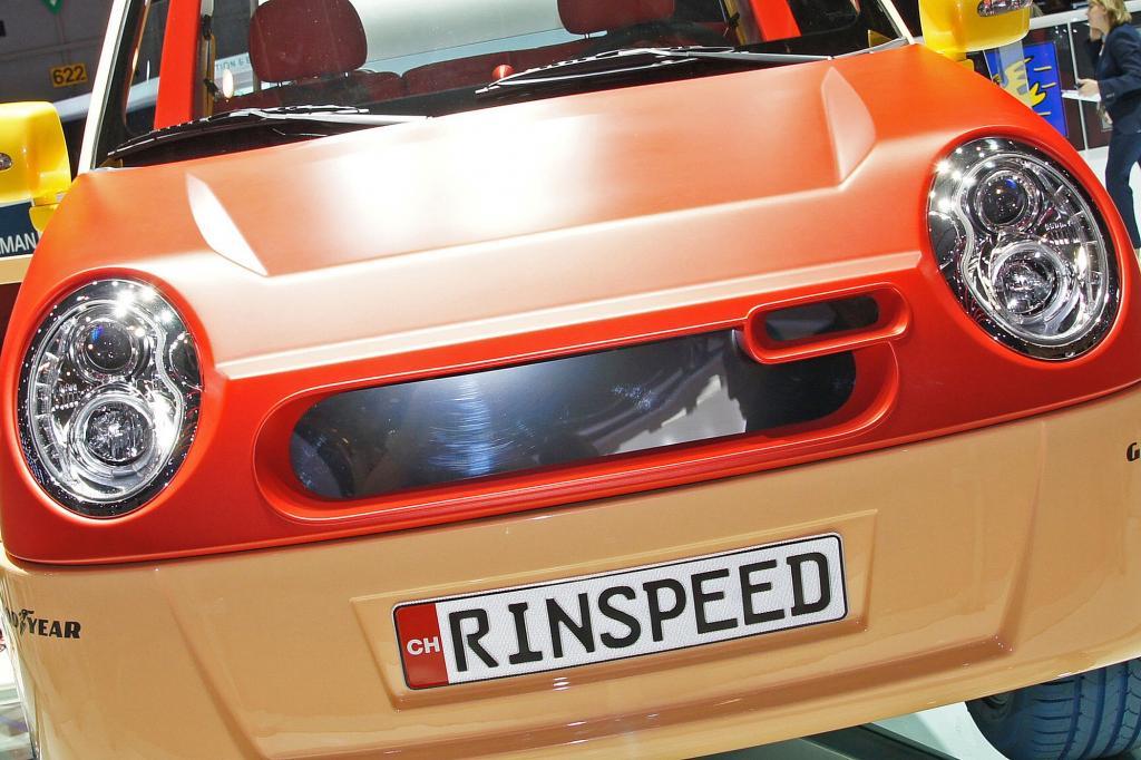 Mit dem Elektroauto Bamboo kommt Rinspeed zum Genfer Salon