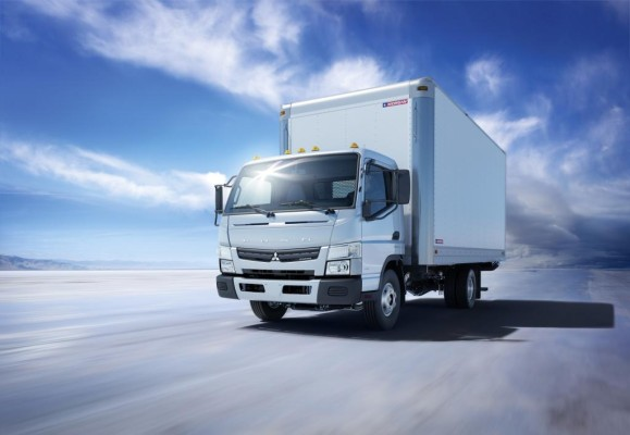 Mitsubishi Fuso bringt neuen Canter auf den nordamerikanischen Markt