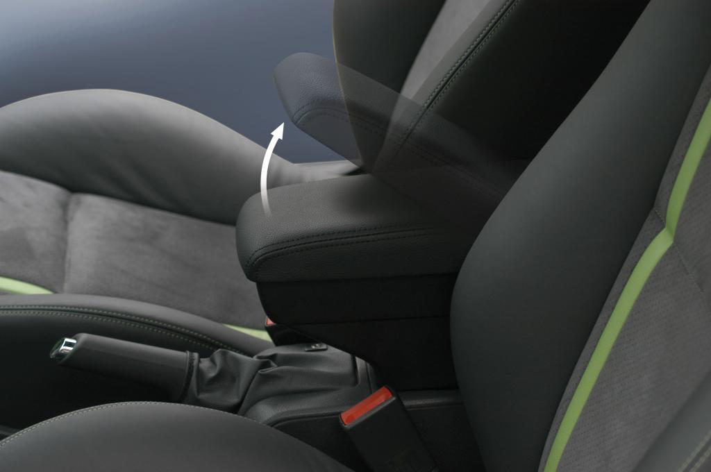 Mittelarmlehne von Irmscher für den Opel Astra.