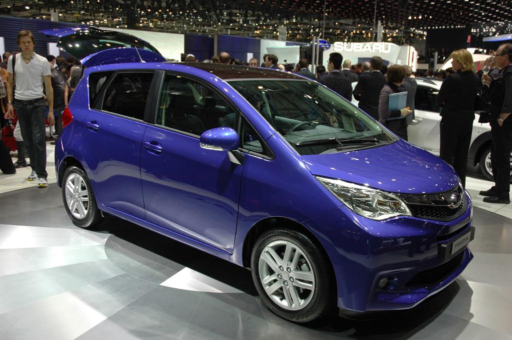 Nächste Produktneuheit: Subaru-Minivan Trezia.