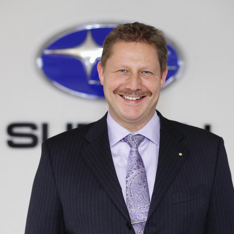Neuer Subaru-Deutschland-Chef: Volker Dannath.