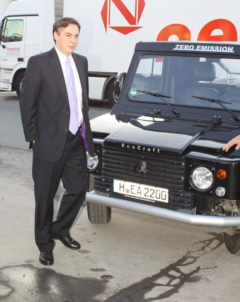 Niedersachsens Ministerpräsident David McAllister besuchte die Frima Ecocraft.