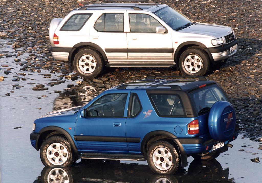 Opel Frontera.
