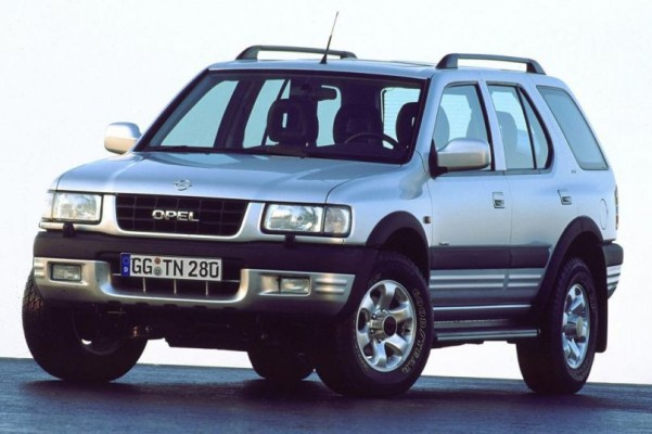 Opel: Geländegänger Frontera wird 20 Jahre