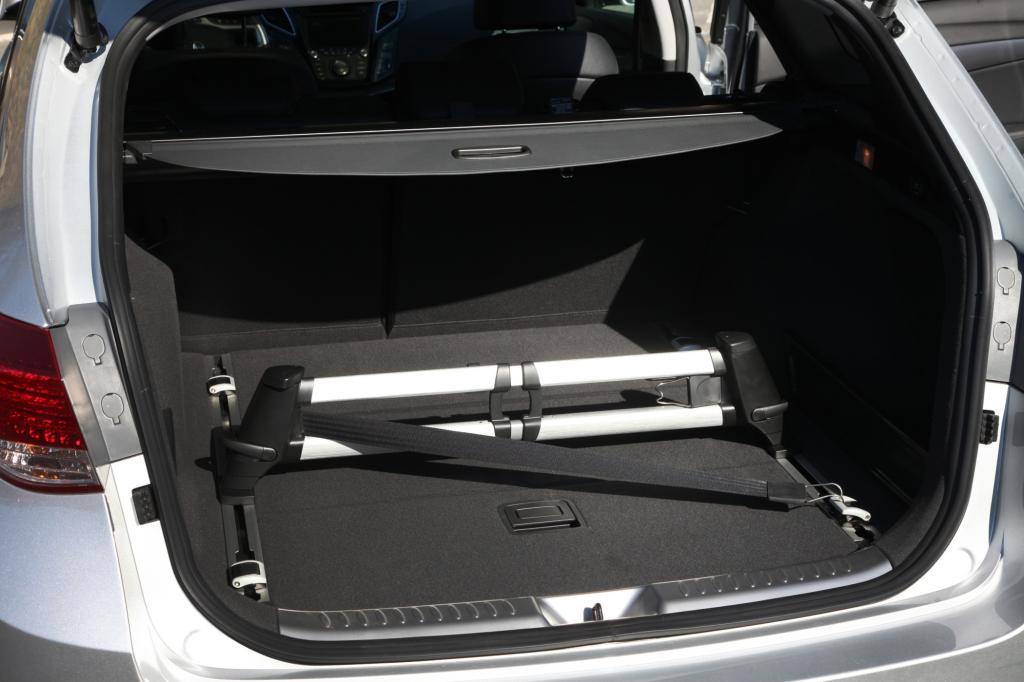 Platz für Gepäck ist genug