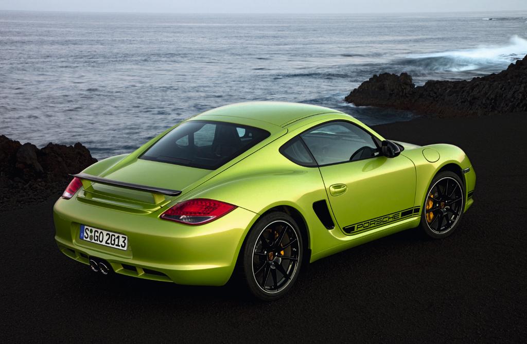 Porsche Cayman R: Den rebellischen Charakter scheint man ihm schon äußerlich anzusehen.
