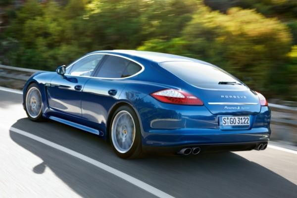 Porsche Panamera S Hybrid: Schnell, groß, grün