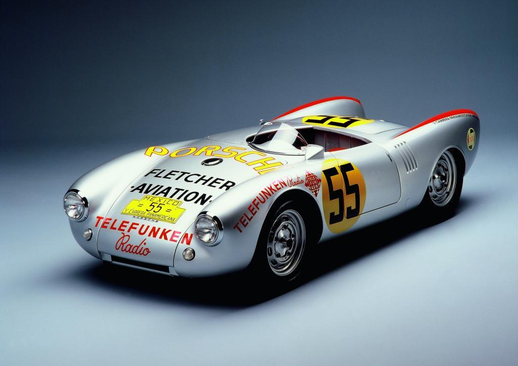 Porsche Type 550 Spyder.