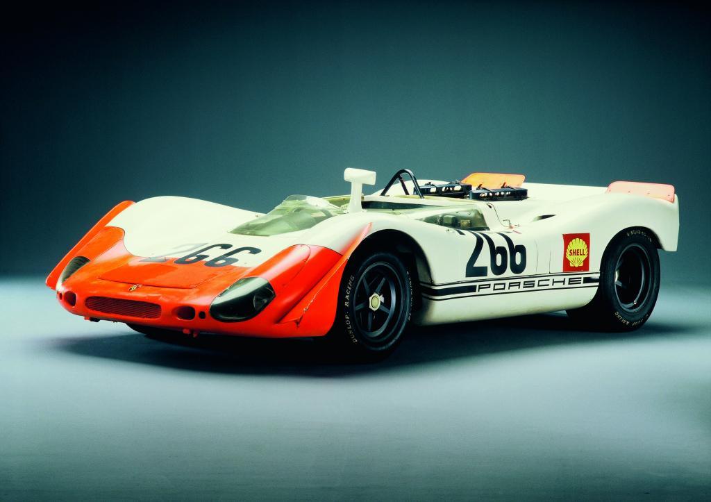 Porsche Type 908/02 Spyder (1969).