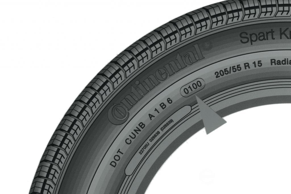 Reifenkennzeichnung - Informationsblatt Reifenflanke