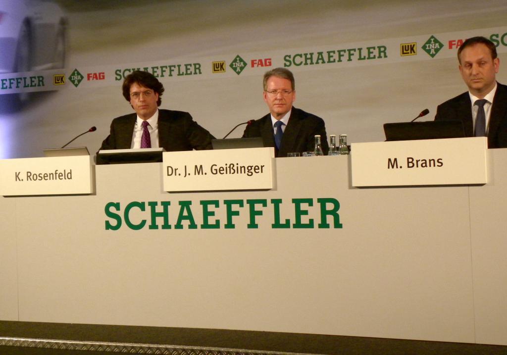 Schaeffler-Gruppe: Aus Sturm wird Rückenwind