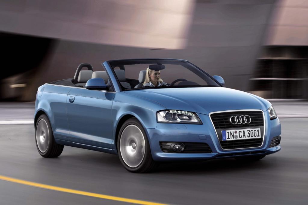 Schneller als der Audi A3 entblättert sich kaum ein Cabrio