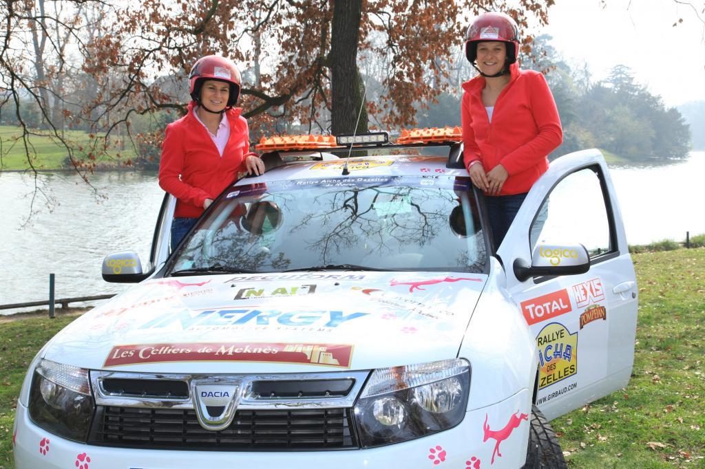 Seit September bereiten sich die beiden auf die Rallye vor