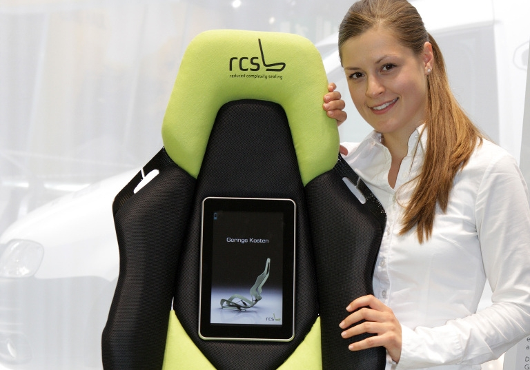 """Sitz-Studie """"Reduced Complexity Seating"""" der IFA-Gruppe."""