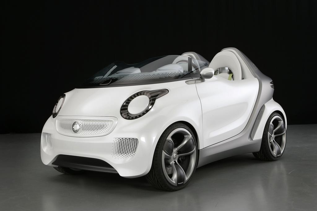 Smart Forspeed - Spaß-Roadster ohne Dach