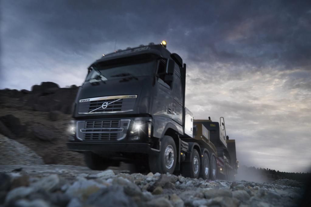 Spezial-Lkw für Schwerlasttransporte von Volvo