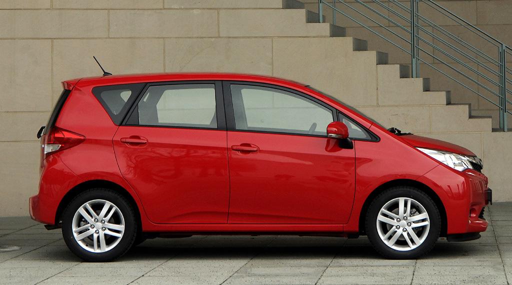 Subaru Trezia: Und so sieht das Toyota-Verso-S-Schwestermodell von der Seite aus.