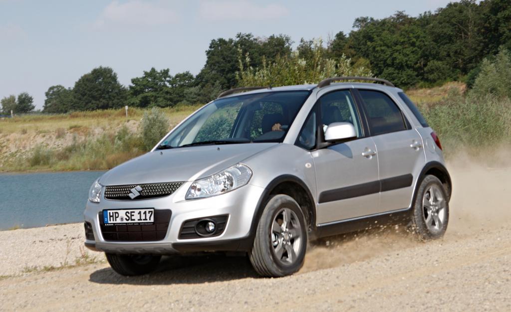 Suzuki SX4 Limited.