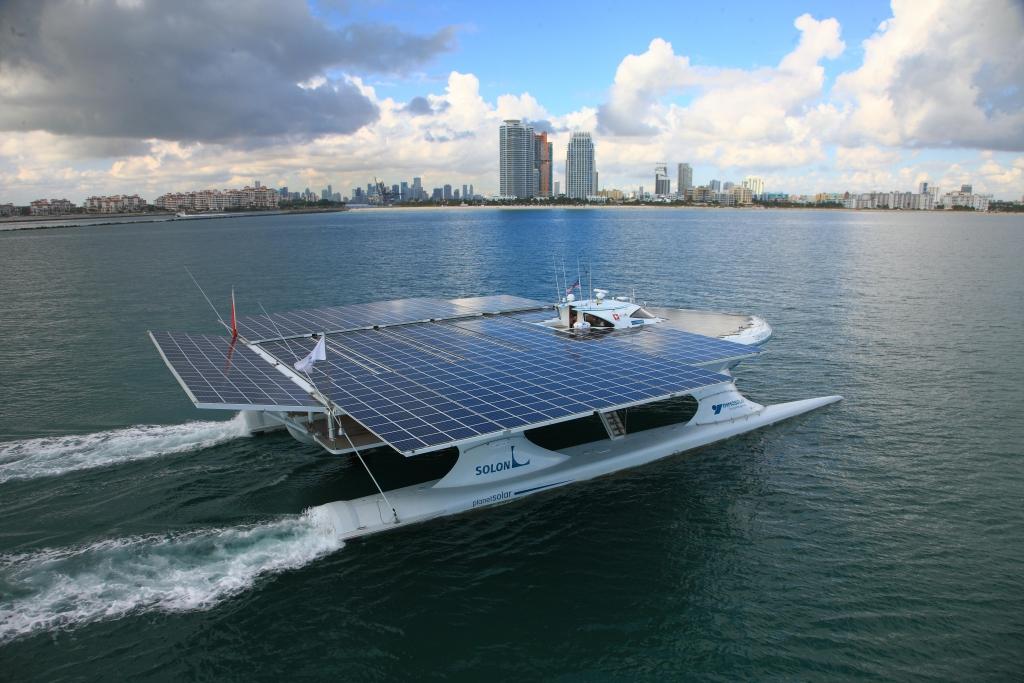 TÛRANOR PlanetSolar: Weltumrundung mit Solarboot