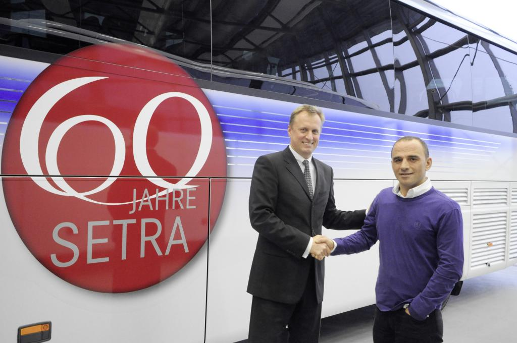 Türkisches Busunternehmen bestellt 50 Setra