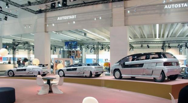 Techno Classica: Italdesign Giugiaro zeigt drei Konzeptautos von 1988
