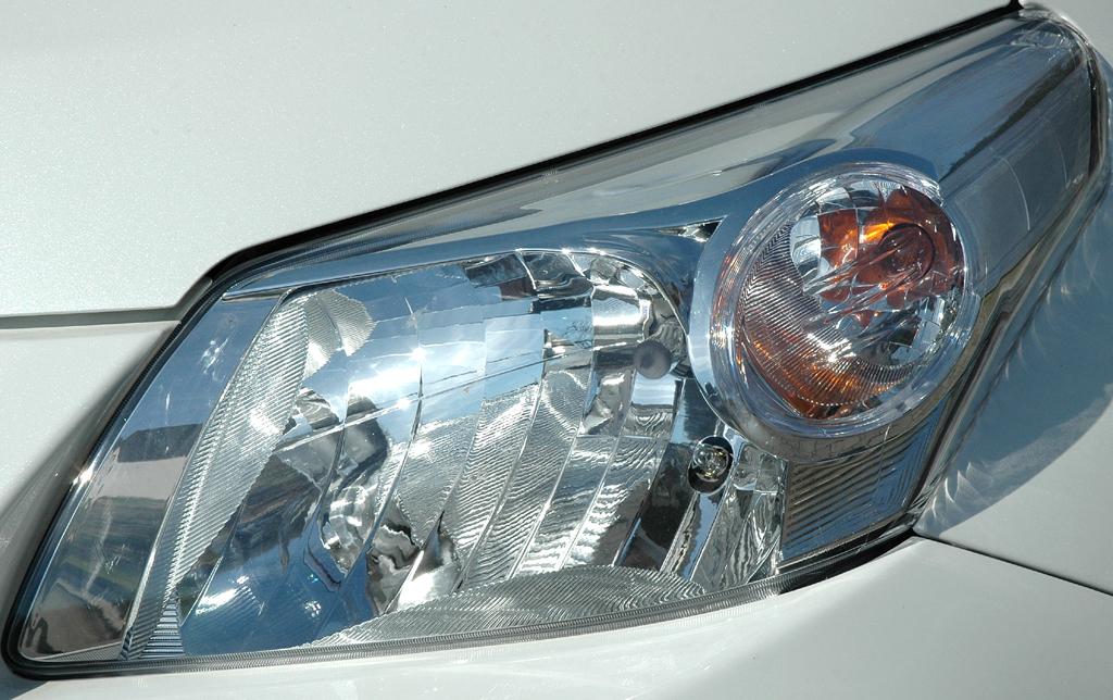 Toyota Urban Criuser: Moderne Leuchteinheit vorn.