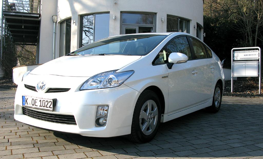 Toyotas Prius hat Zukunftstechnik an Bord.