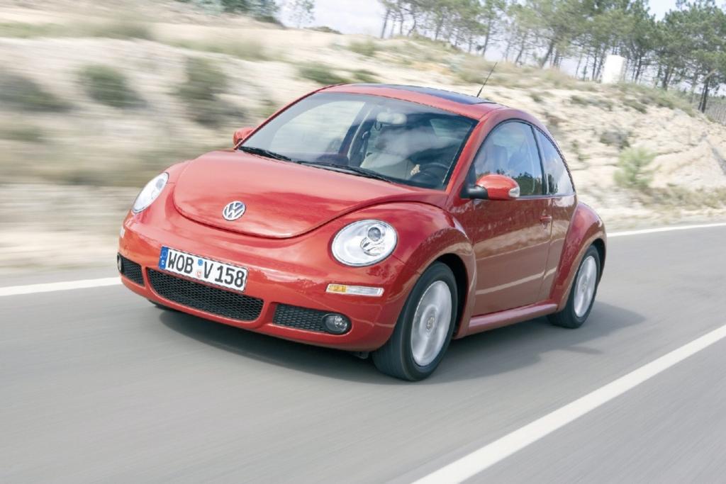 US-Kunden durften den neuen New Beetle nicht behalten.