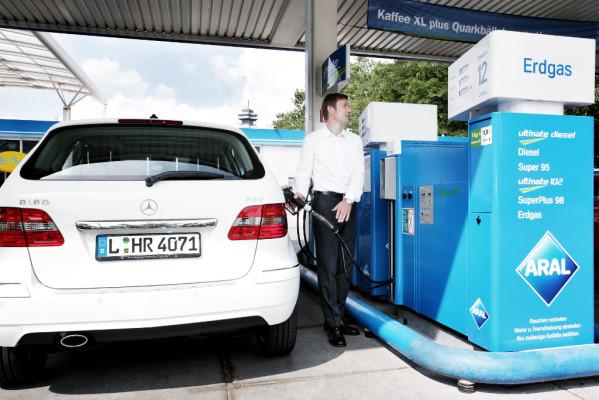 Umweltprämie 2011: Bei Neuanschaffung eines Erdgasfahrzeugs 250 Euro Prämie
