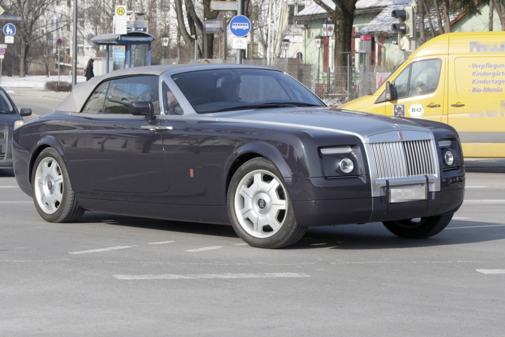 Unauffällig auffällig: Rolls-Royce Experimental-Car 100EX | fotos: lehmann photo-syndication
