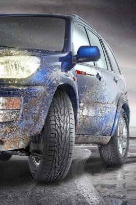 Uniroyal-Sortiment für nahenden Reifenwechsel