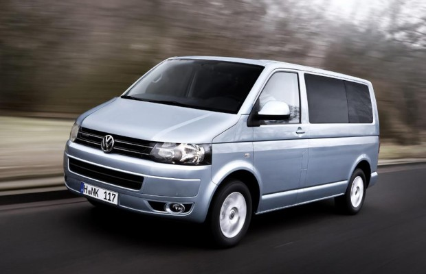 VW Multivan mit Blue Motion-Diesel