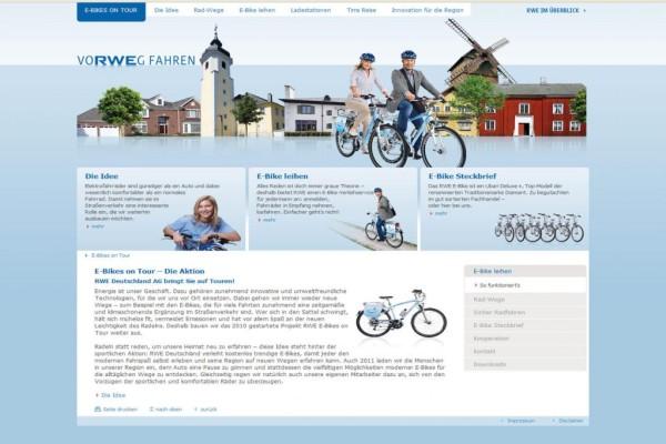 Verleihaktion: Fahrradfahren mit elektrischer Unterstützung