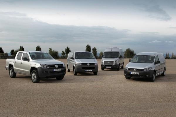 Volkswagen steigerte Nutzfahrzeugabsatz um über ein Fünftel