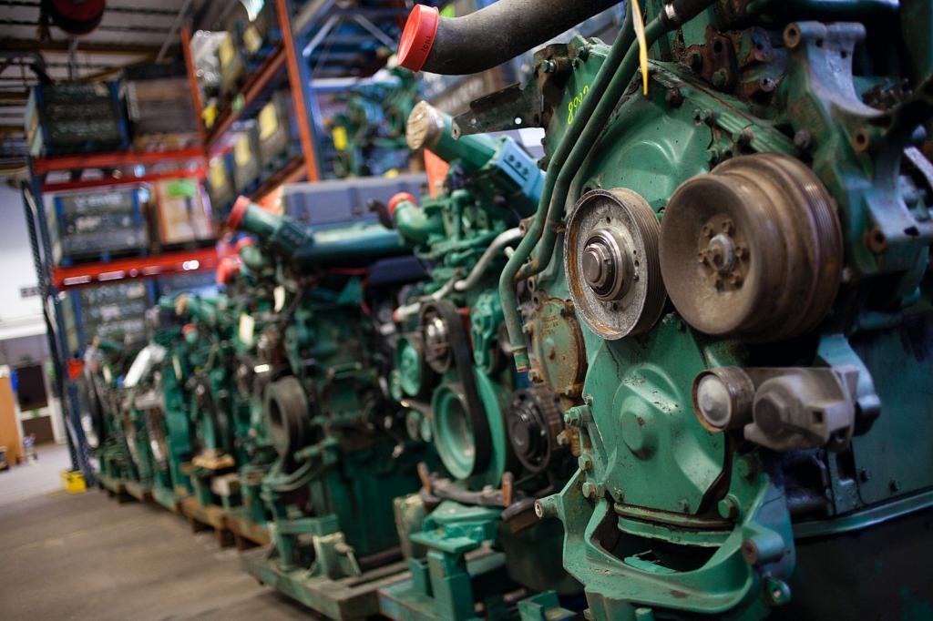 Volvo setzt bei seinen Lkw aus Recycling.