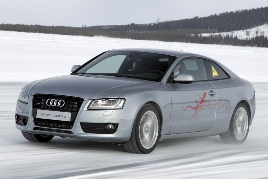 Von außen sieht der Audi aus wie jeder A5, doch dieser Eindruck täuscht.