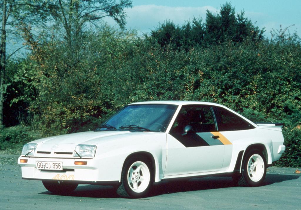 Vor 30 Jahren: Opel stellt den Manta 400 vor
