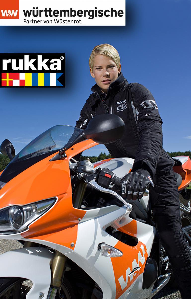 Württembergische Versicherung bietet Vollkasko für Motorradkleidung.