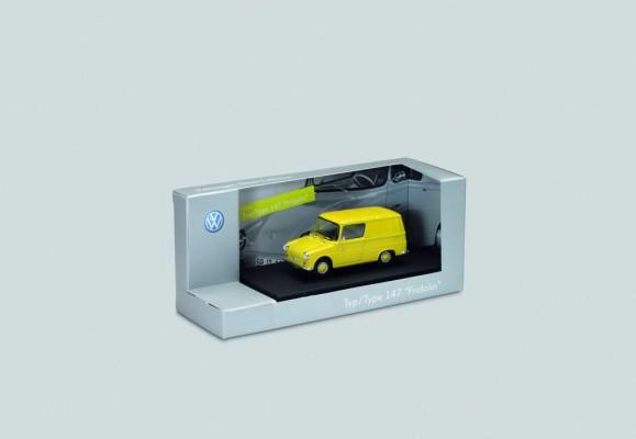 Zwölf Volkswagen-Klassiker als Modellauto