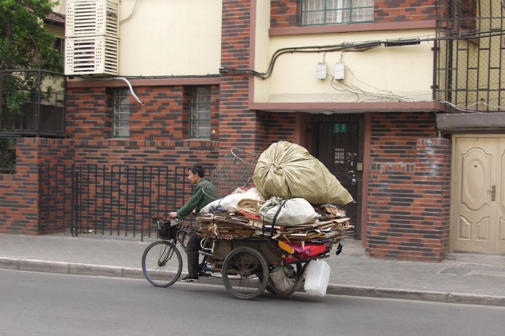 Aber auch zum Recyclen von Altpapier finden