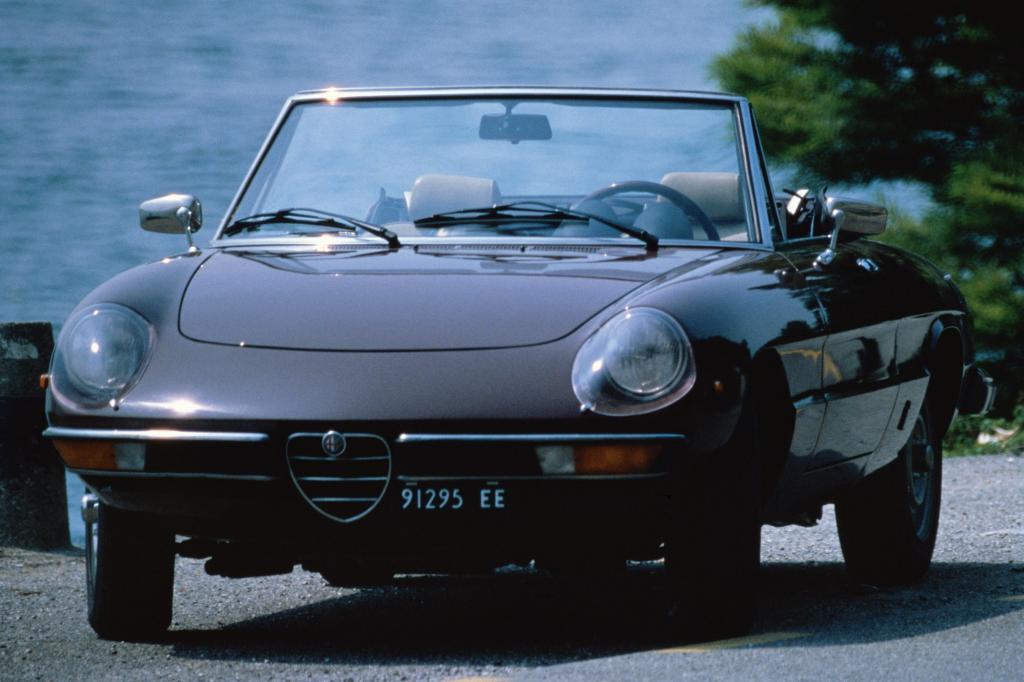 Alfa Rome Spider Fastback, gebaut von 1967bis 1983
