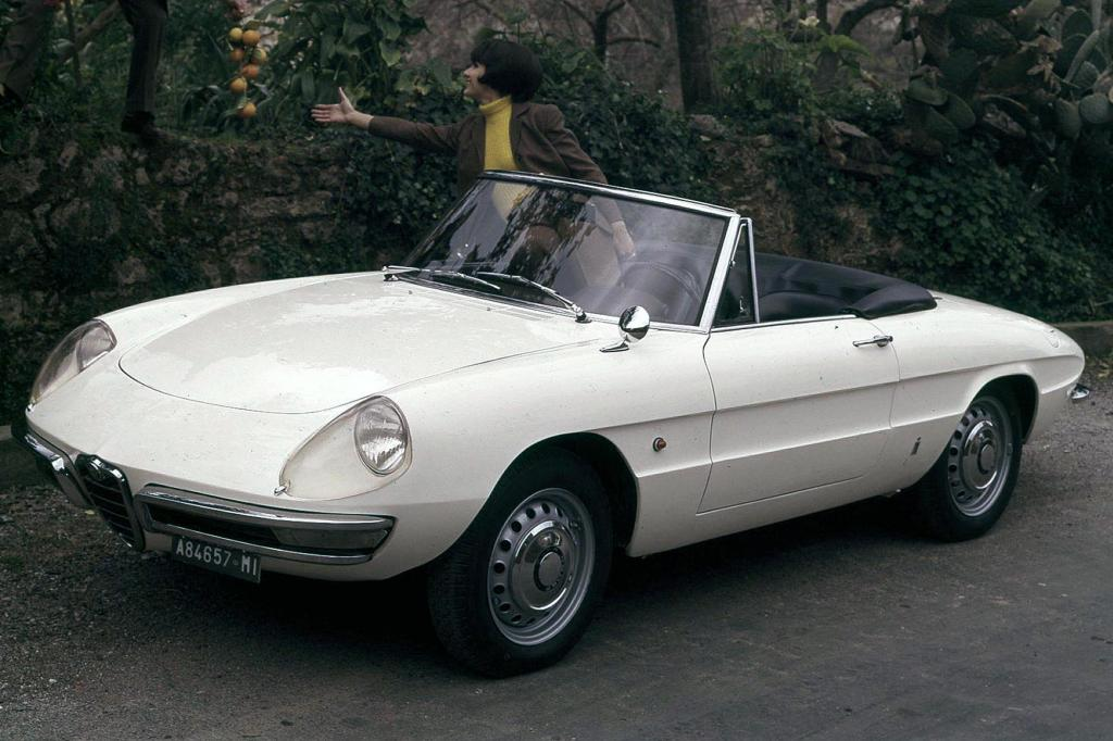 Alfa Romeo Spider Fastback von 1971