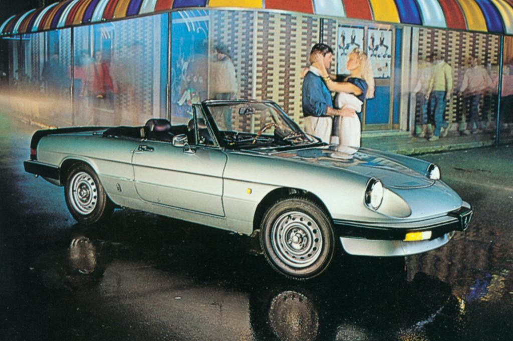 Alfa Romeo Spider von 1983