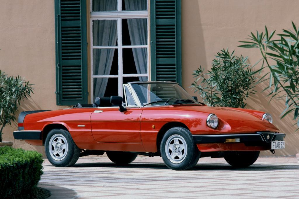 Alfa Romeo Spider von 1987