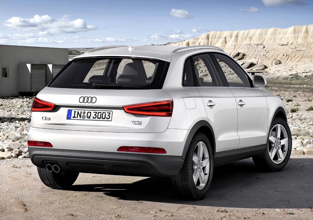 Audi Q3: Die Linienführung mutet coupéhaft an.
