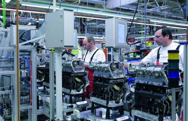 Audi hat 20 Millionen Motoren in Győr produziert