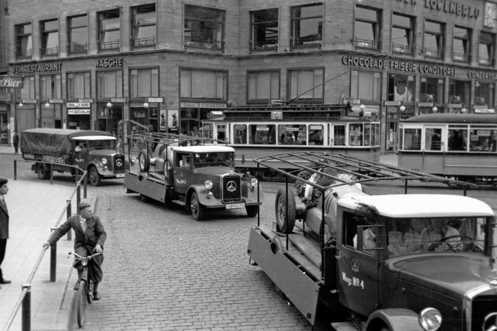 Aus den Anfänger des Auto-Transports im Jahr 1934