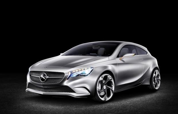 Auto Shanghai 2011: Weltpremiere Mercedes A-Klasse Konzept – Kompaktklasse im 21. Jahrhundert