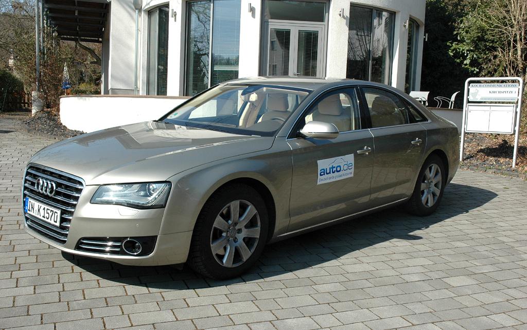 Auto im Alltag: Audi A8 Diesel